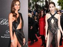 Những bộ đầm khoe da thịt gần ranh giới phản cảm ở Cannes 2019