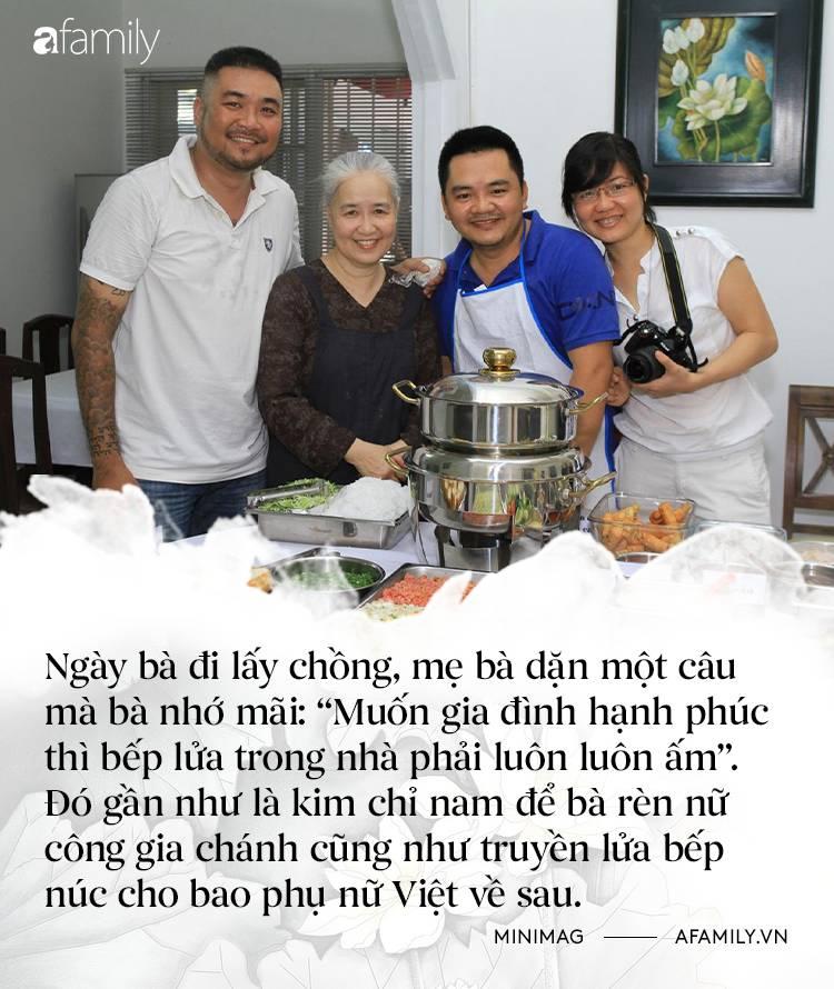 Nguyễn Dzoãn Cẩm Vân - Qua bao truân chuyên để thành Huyền thoại của gian bếp Việt, cuối cùng vì chữ An mà buông bỏ tất cả-2