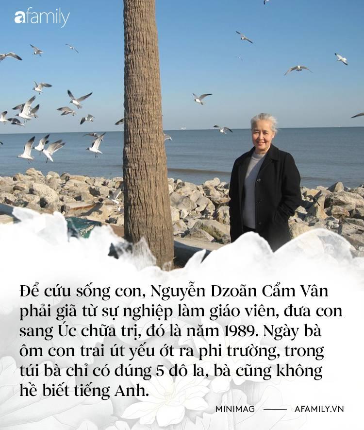 Nguyễn Dzoãn Cẩm Vân - Qua bao truân chuyên để thành Huyền thoại của gian bếp Việt, cuối cùng vì chữ An mà buông bỏ tất cả-4