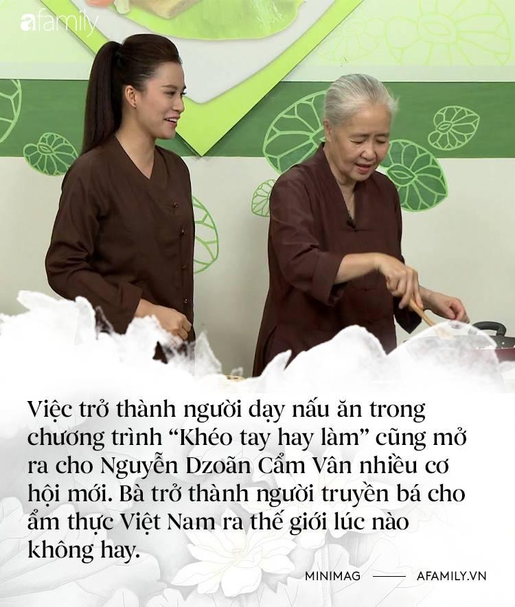 Nguyễn Dzoãn Cẩm Vân - Qua bao truân chuyên để thành Huyền thoại của gian bếp Việt, cuối cùng vì chữ An mà buông bỏ tất cả-6