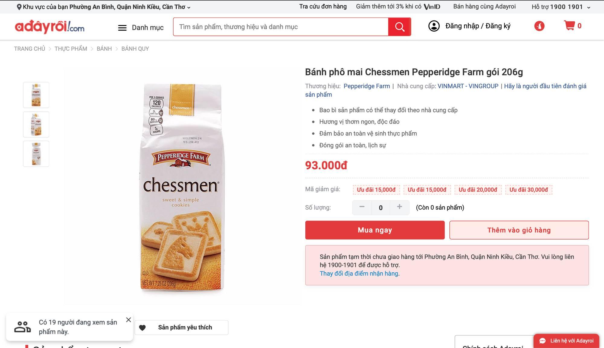 Auchan sale 50% vẫn bị khách hàng tố bán đắt hơn cả giá chưa giảm, sự thật có phải như vậy?-7