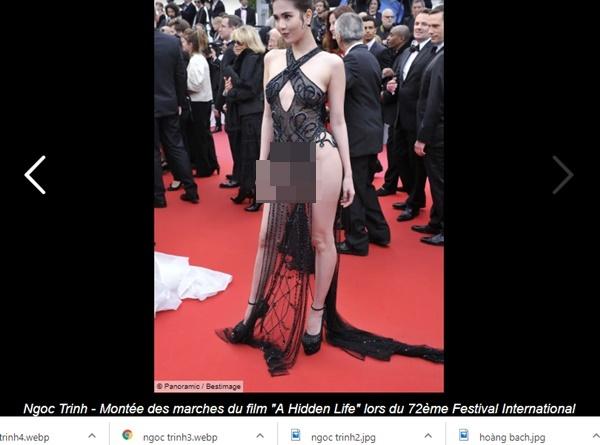 """Hình ảnh Ngọc Trinh tiếp tục vấp phải phản ứng dữ dội, độc giả báo Pháp đòi tẩy chay vì quá lố bịch""""-2"""
