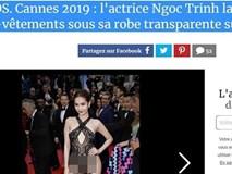 """Hình ảnh Ngọc Trinh tiếp tục vấp phải phản ứng dữ dội, độc giả báo Pháp đòi tẩy chay vì quá """"lố bịch"""""""