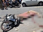 Bé gái 4 tuổi bị xe khách của nhà xe Tân Lập Thành cán ngang đầu chết thảm-2