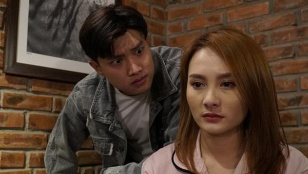 Không chỉ trên phim, cặp đôi oan gia Quốc Trường và Bảo Thanh còn liên tục tương tác với nhau trên mạng khiến fan rần rần thích thú-5