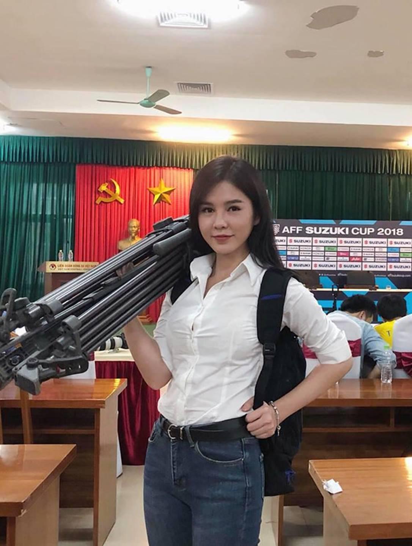 Nhan sắc MC Vũ Thu Hoài - người mới của thiếu gia Tuấn Hải-2