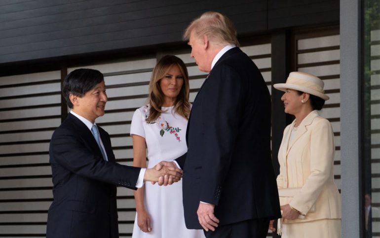 Vợ chồng Tổng thống Trump gặp tân Hoàng đế Nhật Bản, Hoàng hậu Masako khiến nhiều người kinh ngạc khi xuất hiện với hình ảnh hoàn hảo hơn mong đợi-1