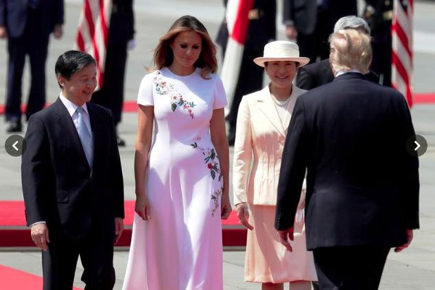 Vợ chồng Tổng thống Trump gặp tân Hoàng đế Nhật Bản, Hoàng hậu Masako khiến nhiều người kinh ngạc khi xuất hiện với hình ảnh hoàn hảo hơn mong đợi-3