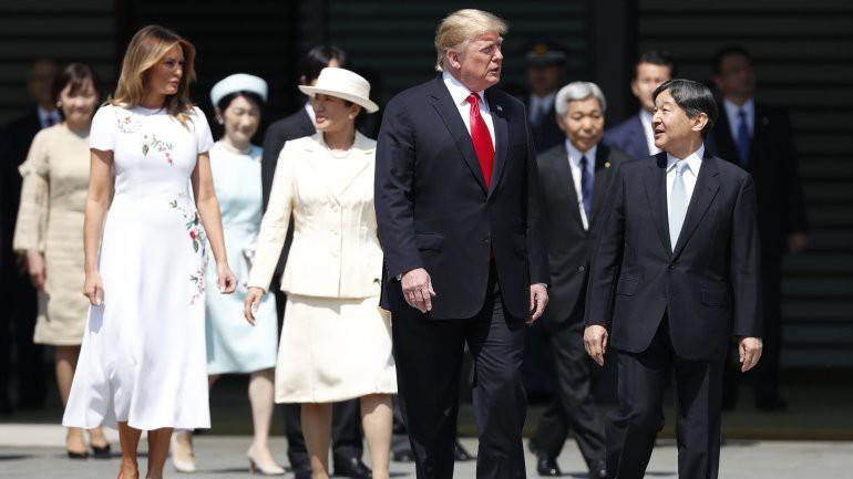 Vợ chồng Tổng thống Trump gặp tân Hoàng đế Nhật Bản, Hoàng hậu Masako khiến nhiều người kinh ngạc khi xuất hiện với hình ảnh hoàn hảo hơn mong đợi-4