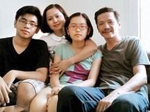 Những điều ít người biết về vợ con của NSƯT Trung Anh ngoài đời