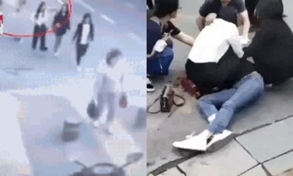Người phụ nữ đang đi dạo tự nhiên bị một người đàn ông đâm liên tiếp giữa đường và nguyên nhân khiến mọi người tranh cãi trên MXH-3