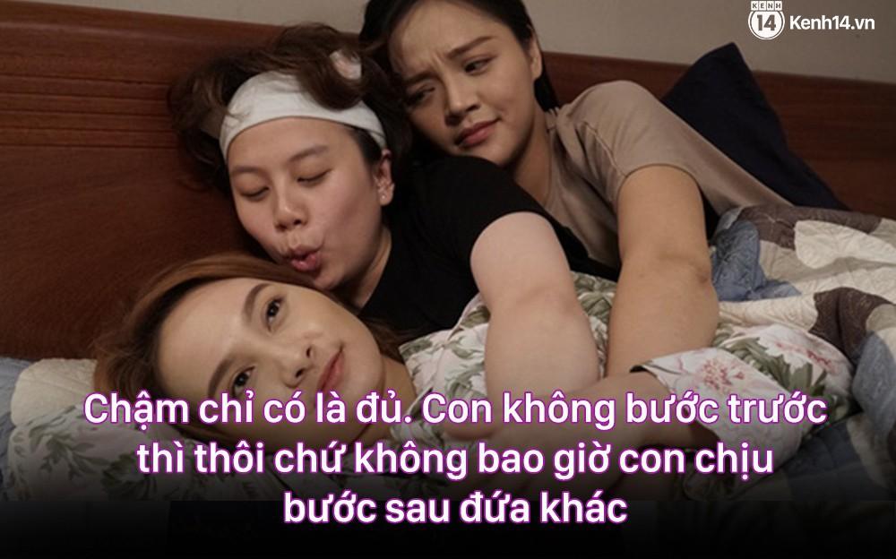 12 màn lộng ngôn, chửi như hát hay của rapper Bảo Thanh trong Về Nhà Đi Con: Tiện đường cũng không đi với tiện nhân!-11