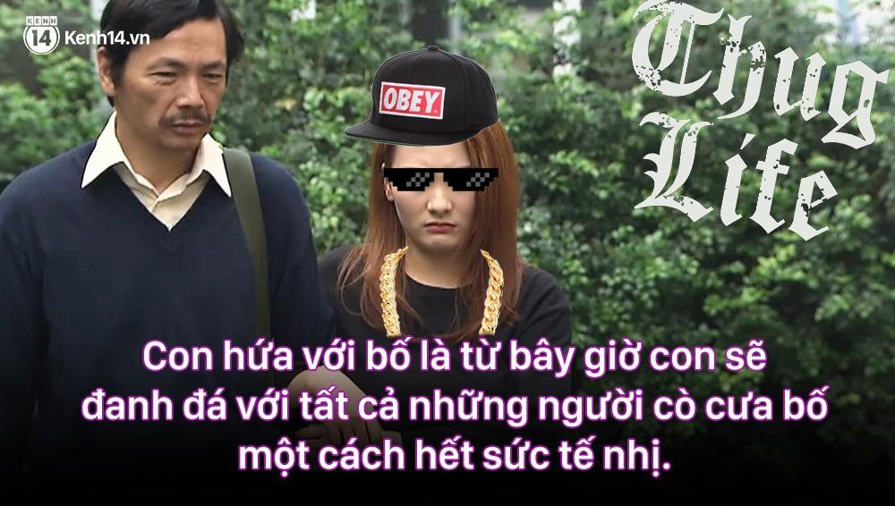 12 màn lộng ngôn, chửi như hát hay của rapper Bảo Thanh trong Về Nhà Đi Con: Tiện đường cũng không đi với tiện nhân!-12