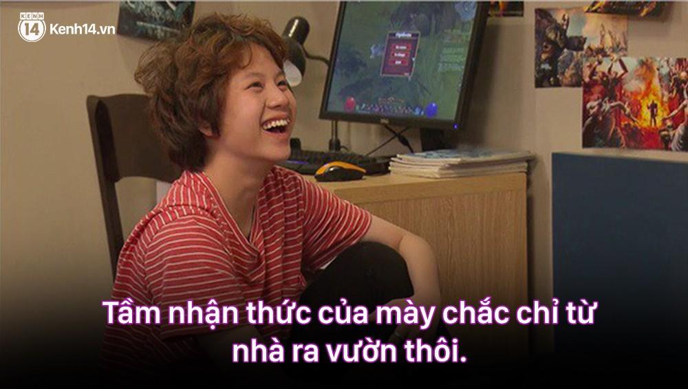12 màn lộng ngôn, chửi như hát hay của rapper Bảo Thanh trong Về Nhà Đi Con: Tiện đường cũng không đi với tiện nhân!-13
