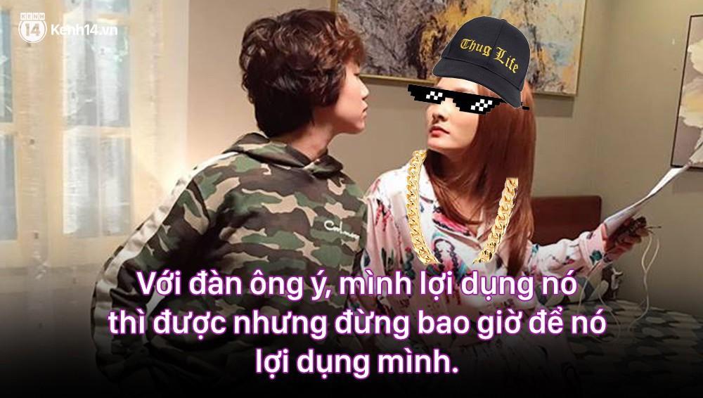 12 màn lộng ngôn, chửi như hát hay của rapper Bảo Thanh trong Về Nhà Đi Con: Tiện đường cũng không đi với tiện nhân!-14