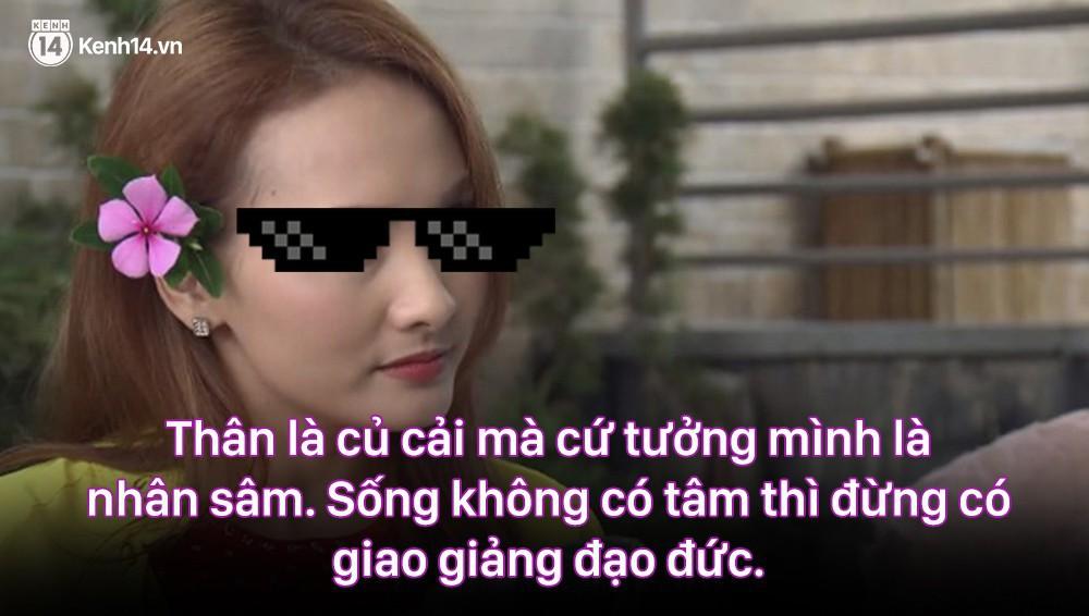 12 màn lộng ngôn, chửi như hát hay của rapper Bảo Thanh trong Về Nhà Đi Con: Tiện đường cũng không đi với tiện nhân!-4