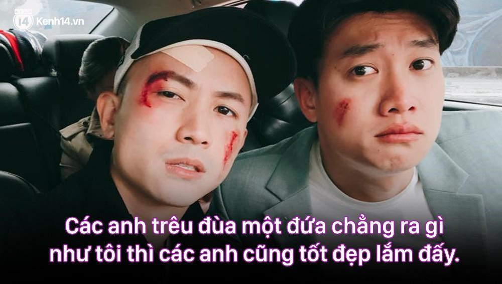 12 màn lộng ngôn, chửi như hát hay của rapper Bảo Thanh trong Về Nhà Đi Con: Tiện đường cũng không đi với tiện nhân!-6
