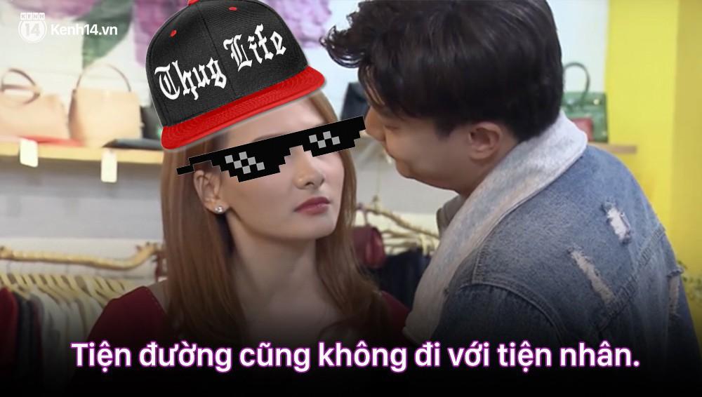 12 màn lộng ngôn, chửi như hát hay của rapper Bảo Thanh trong Về Nhà Đi Con: Tiện đường cũng không đi với tiện nhân!-7