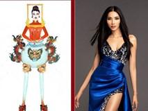 Hoàng Thuỳ sốc với bộ trang phục mà người thiết kế đưa cô lên ...