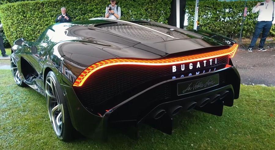 Cận cảnh siêu xe đắt nhất thế giới Bugatti La Voiture Noire, trị giá 435 tỷ đồng-2