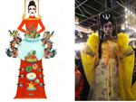 Quên bàn thờ của Hoàng Thùy đi, đây mới là trang phục dân tộc khiến fan sắc đẹp nháo nhào-7