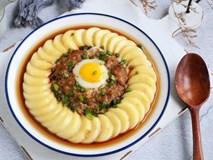 Đậu hấp thịt bằm không dầu mỡ làm chỉ 15 phút cho bữa tối ngon cơm