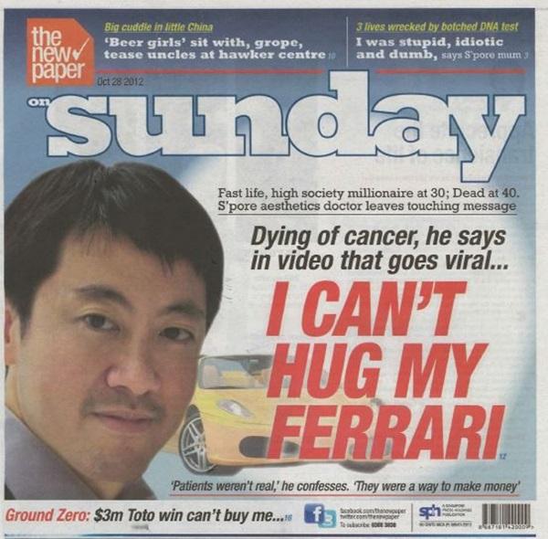 Lời trăn trối của bác sĩ triệu phú bị ung thư: Suốt đời chạy theo tiền tài và những chiếc Ferrari, đối diện với cái chết mới biết hạnh phúc nằm ở đâu-4