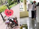 Đoạn clip 29 giây và hình ảnh người bố ướt sũng trên phố khiến dân mạng chia sẻ liên tục-2