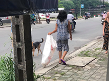 Đều đặn 8 giờ sáng ra đường lượm rác, câu chuyện của một