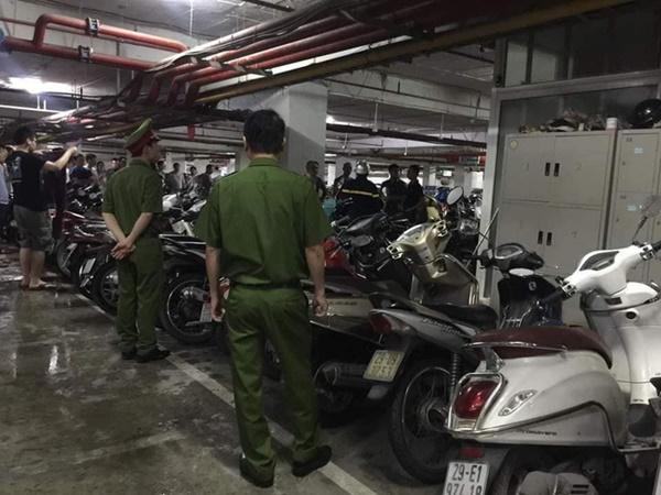 Hà Nội: Cháy tầng hầm chung cư cao cấp Hapulico, hàng trăm người hốt hoảng bỏ chạy-2