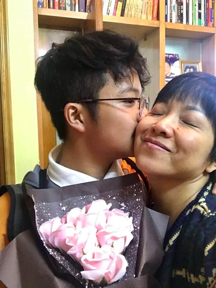 Thảo Vân kể chuyện trưởng thành của con trai sau 10 năm ly hôn Công Lý-1