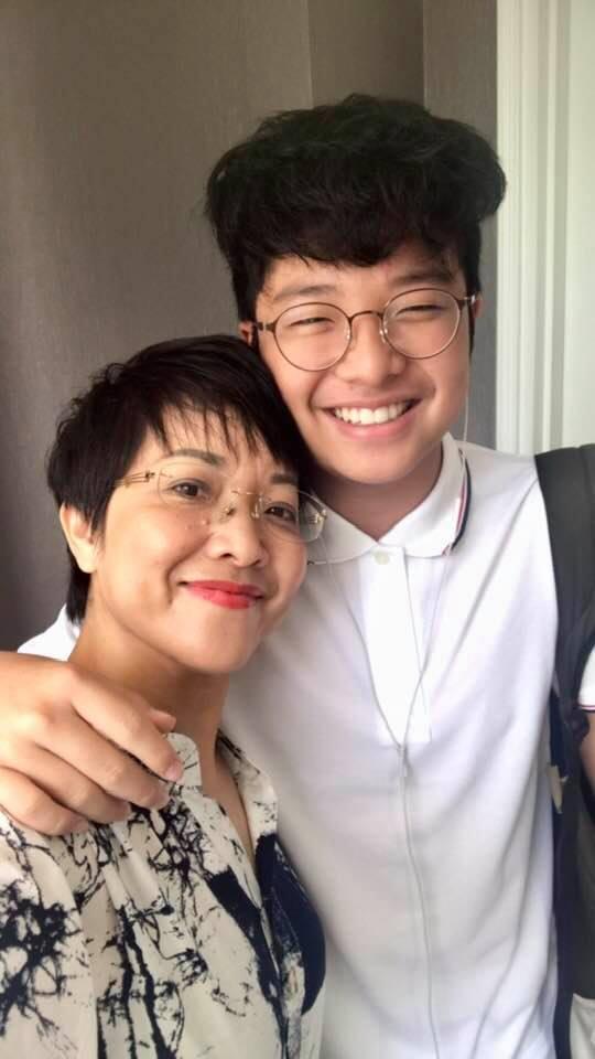 Thảo Vân kể chuyện trưởng thành của con trai sau 10 năm ly hôn Công Lý-3