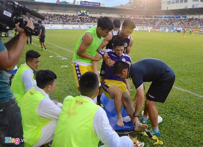 Dân mạng an ủi khi Đình Trọng chấn thương nặng trước thềm Kings Cup-1