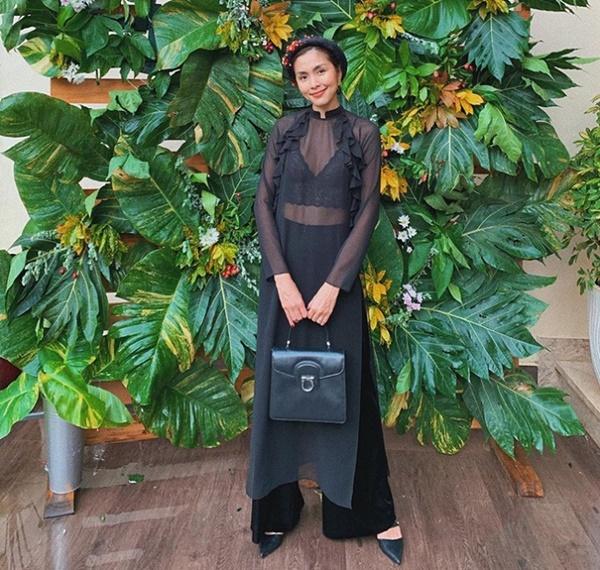 Mặc áo dài lộ nội y: Tăng Thanh Hà, Trần Tiểu Vy gây tranh cãi nhất?-1