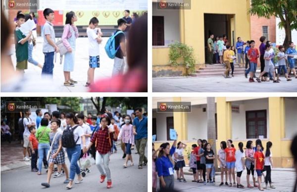 Nóng: Vỡ trận trước cổng trường ĐH Ngoại Ngữ, hàng nghìn phụ huynh chen chúc gọi Con ơi, mẹ đây, bố đây gây náo loạn-11