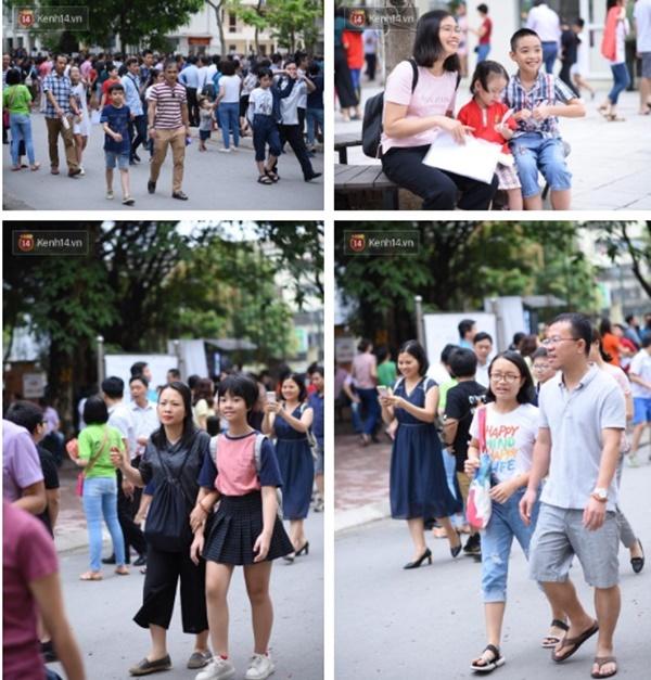 Nóng: Vỡ trận trước cổng trường ĐH Ngoại Ngữ, hàng nghìn phụ huynh chen chúc gọi Con ơi, mẹ đây, bố đây gây náo loạn-12