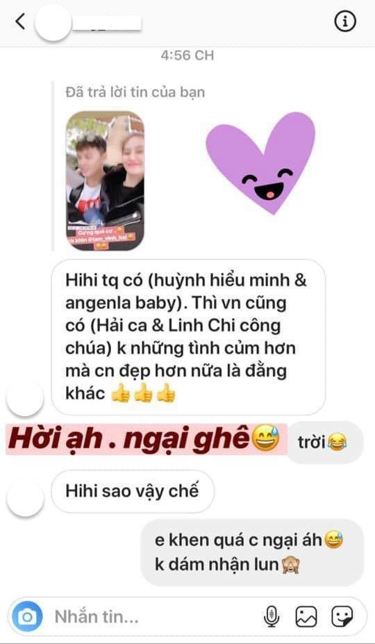Sau lùm xùm tình ái, Linh Chi lại gây tranh cãi khi tự hào khoe được so sánh với Huỳnh Hiểu Minh - Angelababy-1