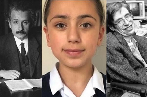Cô bé 11 tuổi có chỉ số IQ cao hơn cả 2 thiên tài nổi tiếng Albert Einstein và Stephen Hawking-1