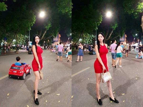 Mỹ nhân khoe thân trên phố đi bộ Hà Nội và chuyện tình bí mật với siêu đại gia Mỹ-1