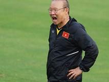 Tuyển Việt Nam: HLV Park Hang Seo nổi giận, vì đâu?