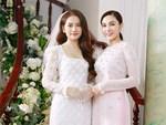 Cô dâu Sara Lưu lộ vòng 2 bất thường trong khoảnh khắc chụp nghiêng-4