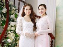 Đám cưới Dương Khắc Linh - Sara Lưu: Những hình ảnh đầu tiên của cô dâu trước giờ vu quy