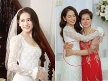 Cô dâu Sara Lưu lộ vòng 2 bất thường trong khoảnh khắc chụp nghiêng