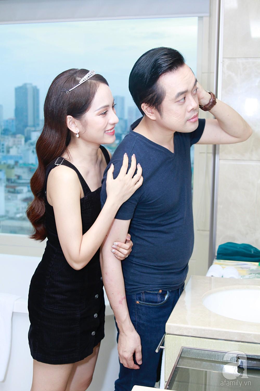 Sara Lưu âu yếm Dương Khắc Linh trong phòng cưới trước giờ G-17
