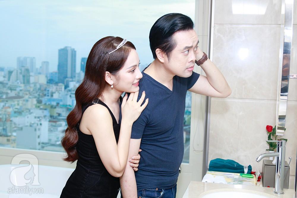 Sara Lưu âu yếm Dương Khắc Linh trong phòng cưới trước giờ G-19