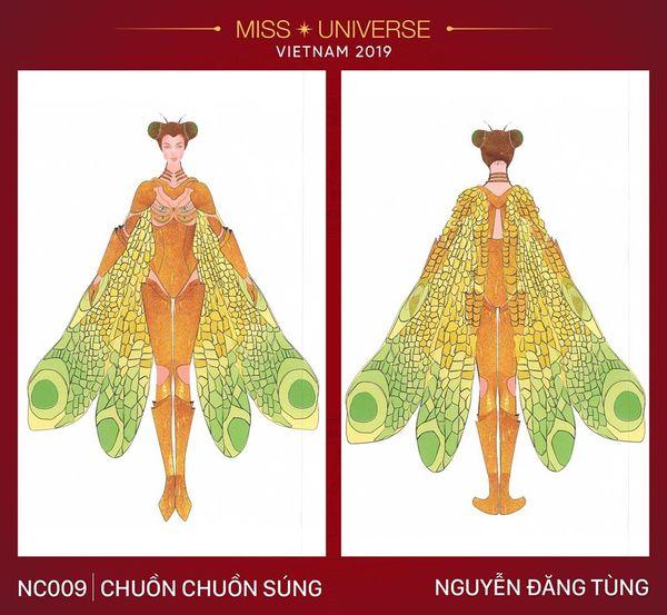 Quên bàn thờ của Hoàng Thùy đi, đây mới là trang phục dân tộc khiến fan sắc đẹp nháo nhào-5