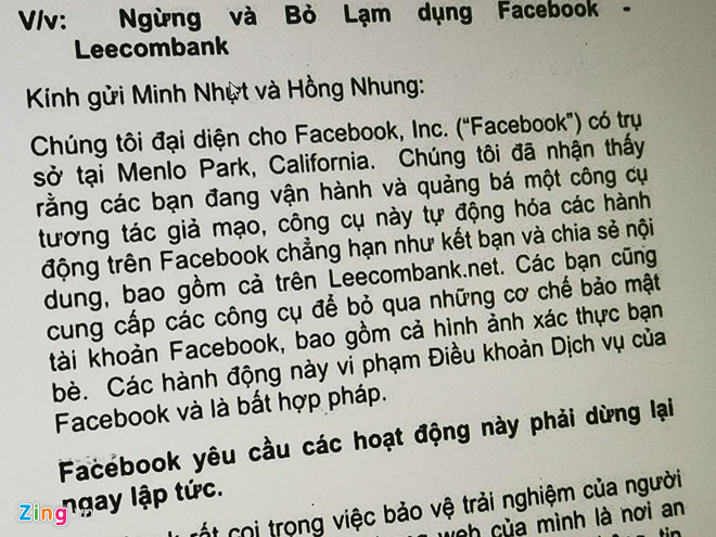 Hàng nghìn tài khoản tại VN bị xóa vì Facebook truy quét nick ảo-1