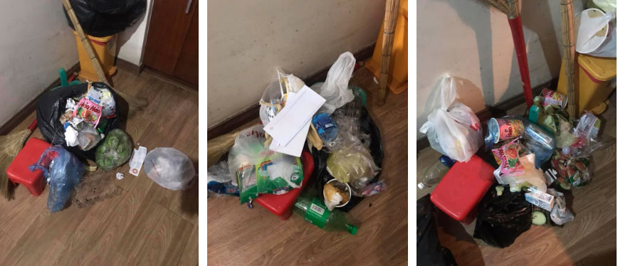 Thêm gái xinh ở bẩn khiến dân mạng ngán ngẩm: Nhắc 3 lần vẫn vứt rác giữa nhà, lơ đẹp luôn cả tiền sinh hoạt-2
