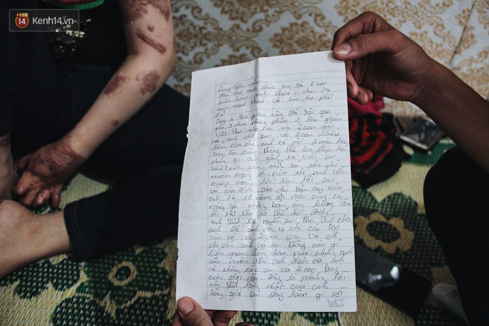 Cô gái trẻ bị chồng tưới xăng thiêu sống và lá thư muộn màng từ trại giam: Gần 3 năm anh chưa một lần dám viết thư cho em và hai con...-12