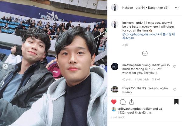 Bạn thân ở Incheon nhắn Công Phượng: Tôi sẽ rất nhớ bạn-3